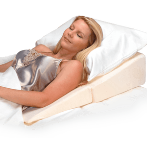 Folding bed wedge helps acid reflux
