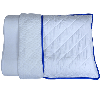 Warm And Cool Reversible Quilted Pillow Case