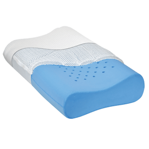 Ventilated Memory Foam plus Cool Mesh Layer