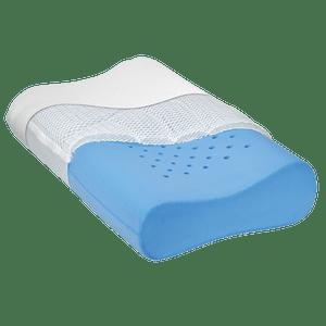 ventilated memory foam plus cool mesh layer