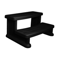 Spa Step Black Cover Valet