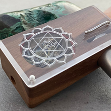 LOVE LAUNCH BOX - Chakra Series in Walnut Hardwood