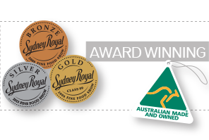 Tall Poppy Gourmet products have one several awards at the Sydney Royal Easter Show