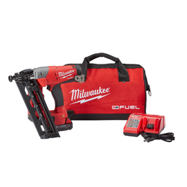 Milwaukee 2742-21CT - M18 FUEL™ 16ga Angled Finish Nailer Kit