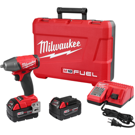 """Milwaukee 2754-22 - M18 FUEL™ 3/8"""" Compact Impact Wrench w/ Friction Ring Kit"""