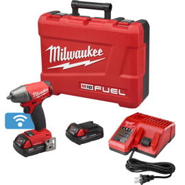 """Milwaukee 2758-22CT - M18 FUEL™ with ONE-KEY™ 3/8"""" Compact Impact Wrench w/ Friction Ring Kit"""