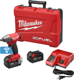 """Milwaukee 2759-22 - M18 FUEL™ with ONE-KEY™ 1/2"""" Compact Impact Wrench w/ Pin Detent Kit"""