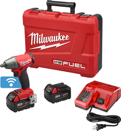 """Milwaukee 2759B-22 - M18 FUEL™ with ONE-KEY™ 1/2"""" Compact Impact Wrench w/ Friction Ring Kit"""