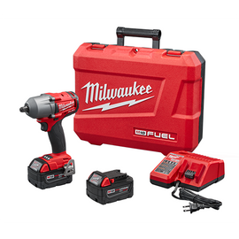 """Milwaukee 2860-22 - M18 FUEL™ 1/2"""" Mid-Torque Impact Wrench with Pin Detent Kit"""