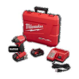 "Milwaukee 2760-22CT - M18 FUEL™ SURGE™ 1/4"" Hex Hydraulic Driver Kit"