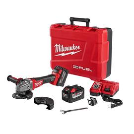 "Milwaukee 2781-22HD - M18 FUEL™ 4-1/2"" / 5"" Grinder, Slide Switch Lock-On High Demand™ Kit"