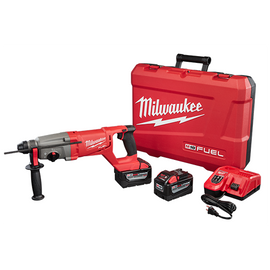 "Milwaukee 2713-22HD - M18 FUEL™ 1"" SDS Plus D-Handle Rotary Hammer High Demand™ Kit"