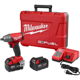 """Milwaukee 2755B-22 - M18 FUEL™ 1/2"""" Compact Impact Wrench w/ Friction Ring Kit"""