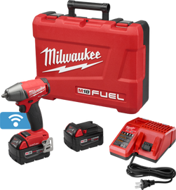 """Milwaukee 2758-22 - M18 FUEL™ with ONE-KEY™ 3/8"""" Compact Impact Wrench w/ Friction Ring Kit"""