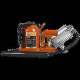 Strongarm 030160 - (391SHD) 20 Ton Low Profile Air/Hydraulic Bottle Jack - Super Heavy Duty