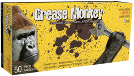 Watson Grease Monkey 5555PF - Grease Monkey 8 MIL Nitrile - Small
