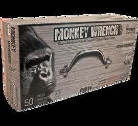"Watson Monkey Wrench 5557PF - Monkeywrench 6MIL Diamond Grip Orange 9.5"" - Large"