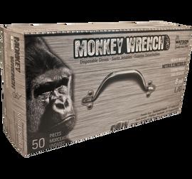 "Watson Monkey Wrench 5558PF - Monkeywrench 8 MIL Diamond Grip Black 11"" - Double eXtra Large (2XL)"