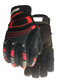 Watson Work Armour 010BK - Extreme Anti Vibe Black - Large