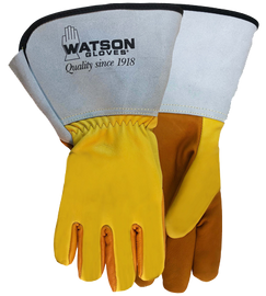 Watson Storm 9407GCR - Ice Storm C100 Oil Resistant W/Gauntlet Cuff & Cut Shield - Double eXtra Large (2XL)