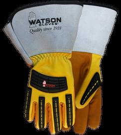 Watson Storm Trooper 95782GCR - Lined Storm Trooper Gauntlet W/C100 & Cut Shield - Medium
