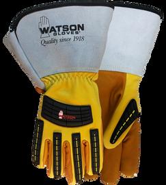 Watson Storm Trooper 95782GCR - Lined Storm Trooper Gauntlet W/C100 & Cut Shield - Small