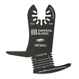 Imperial Blades IBOA800-1 - One Fit™ 4-IN-1 Features Drywall Blade, 1PC