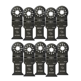 """Imperial Blades IBSL200-10 - Starlock™ 1-3/8"""" Standard Wood Blade, 10PC"""