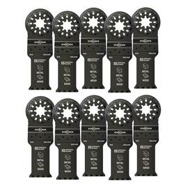 """Imperial Blades IBSL330-10 - Starlock™ 1-1/8"""" Multi-Material Metal/Wood Blade, 10PC"""