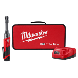 "Milwaukee 2559-21 - M12 FUEL™ 1/4"" Extended Reach Ratchet Kit"
