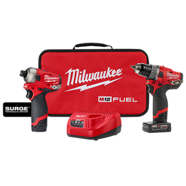 Milwaukee 2582-22 - M12 FUEL™ SURGE™ HDD 2-PC Combo Kit