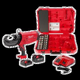 Milwaukee 2779-750C - M18™ FORCE LOGIC™ 750 MCM Crimper Kit with EXACT™ #6 – 750 MCM Cu Dies