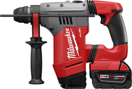 """Milwaukee 2715-22DE - M18 FUEL™ 1-1/8"""" SDS Plus Rotary Hammer W/ DE Kit"""