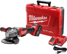 "Milwaukee 2780-21 - M18 FUEL™ 4-1/2"" / 5"" Grinder, Paddle Switch No-Lock Kit"
