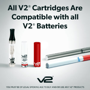 V2 Electronic Cigarettes Compatible with all V2 cartridges