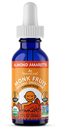 Almond Amaretto Monk Fruit Organic Sweetener
