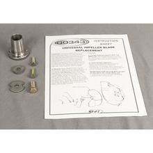 "Tapered Bushing Kit - For Small Blower Housing Engines & PTOs with 1"" Shafts"