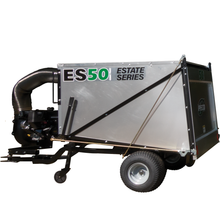 ES50 Estate Series Trailer Vac with Yanmar 7hp Electric Start Diesel Engine
