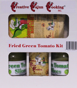 This great Fried Green Tomato with Gator Wing Batter kit is for great time with your family and friends.