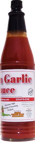 Shake it, spread it, and enjoy a great Cajun Garlic Sauce on all your meals.