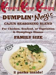 Creative Cajun Cooking's Dumplin' Magic Cajun Seasoning Blend