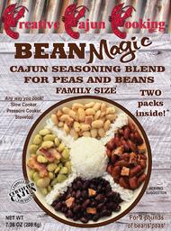 Creative Cajun Cooking's Bean Magic Cajun Seasoning Blend For Peas and Beans