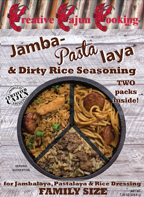 Creative Cajun Cooking's Jamba-Pasta laya And Dirty Rice Seasoning