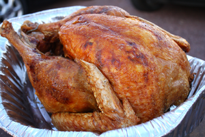 Order your Holiday Turkey with Creative Cajun Cooking, Jimmy Babin Today!