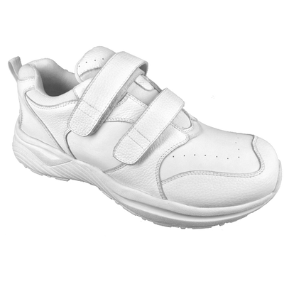Genext Athletic White Touch Closure GAV20M Mens Orthopedic Shoes