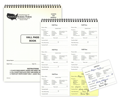 Hall Pass Booklet (232)