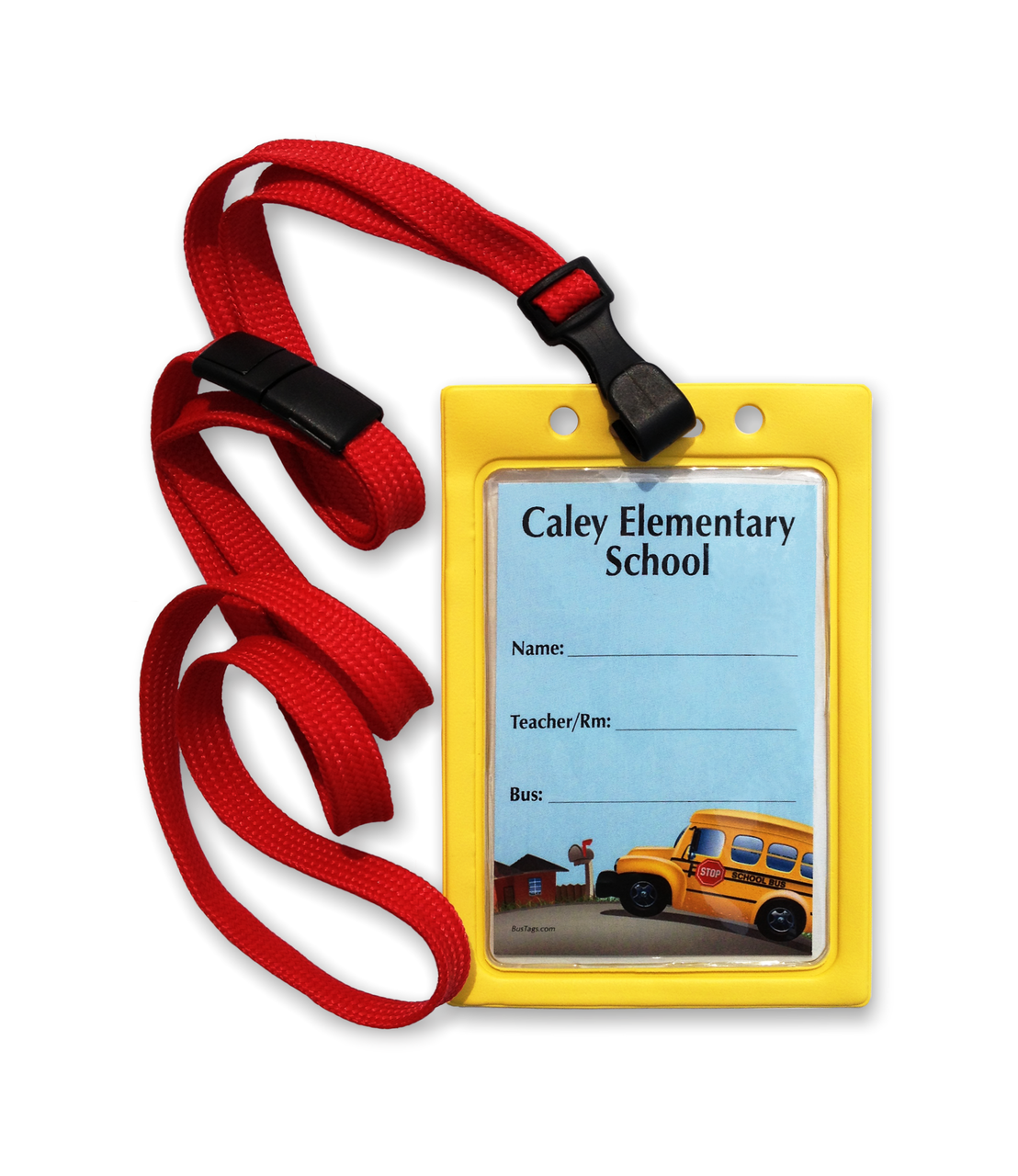 Optional breakaway lanyard!