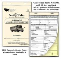 product categories transportation forms bus inspection forms Manhole Inspection Forms customized inspection booklet ex le