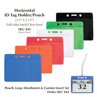 6 Pouch Colors to choose from
