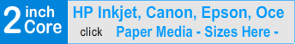 Best of Today's wide-format inkjet papers, 2 Core inkjet printing large format inkjet paper rolls